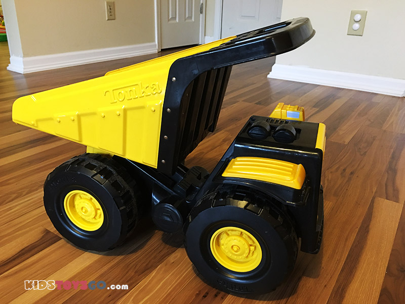 Tonka Mighty Dump Truck Review