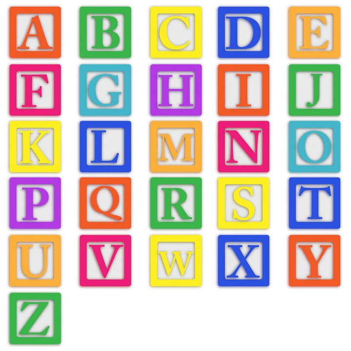 Alphabet educational toys
