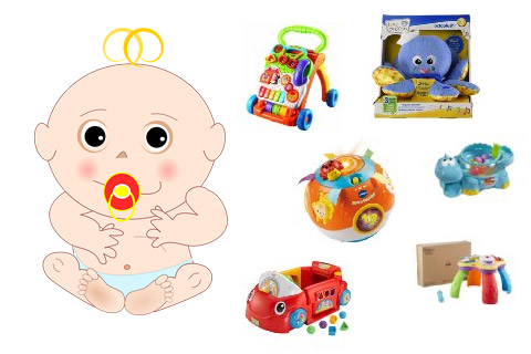6 Best Toys for 6-month-old Babies 2017 (Playing & Learning)