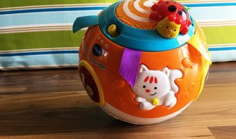 Vtech Move And Crawl Ball: Learning with Fun