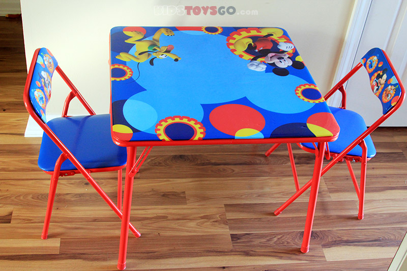 Mickey Mouse Clubhouse table and chairs