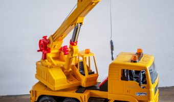 Bruder MAN Crane Truck Review
