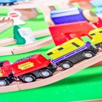 Melissa & Doug Deluxe Wooden Railway Train Set Review