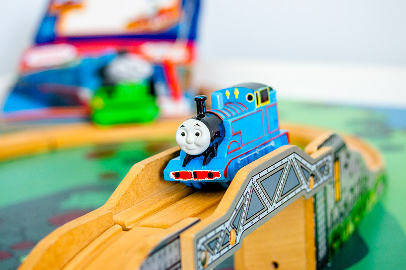 Thomas train table set